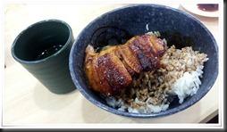 すしやのうな丼@無添くら寿司