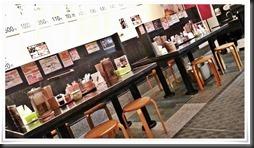 テーブル席@らーめん雷蔵 新宮店