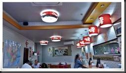 店内の雰囲気@中華料理 龍鶴園