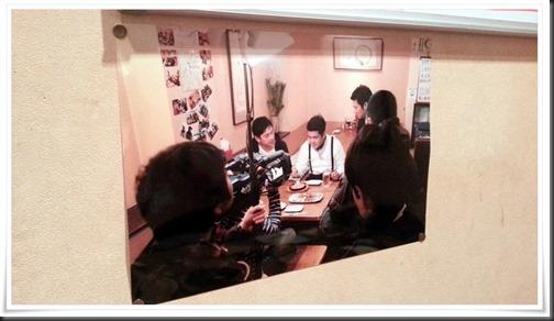 RKB豆ご飯取材写真@炭火焼鳥 玉ちゃん