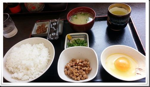 朝定食(納豆)@資さんうどん鞘ヶ谷店