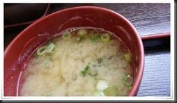朝定食の味噌汁@資さんうどん鞘ヶ谷店