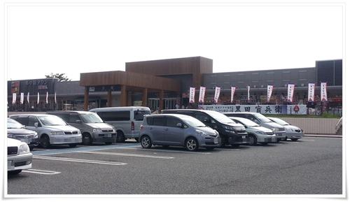 広大な駐車場@古賀サービスエリア(上り)