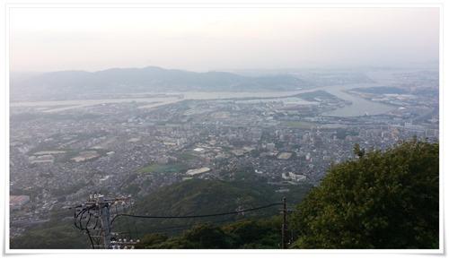 山麓駅からの風景@皿倉山星空ビアガーデン