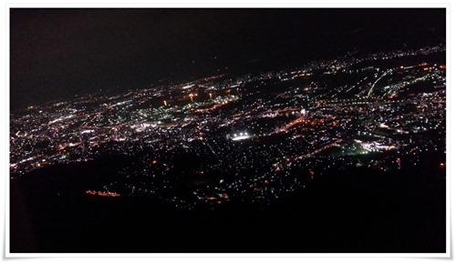 皿倉山からの夜景@皿倉山星空ビアガーデン