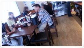 テーブル席@麺屋 新月