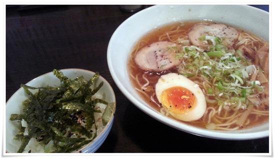 黒志士+汁飯用ご飯@らーめん志士