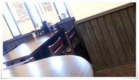 4人掛けテーブル席@サッポロラーメン時計台