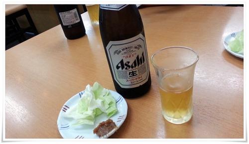 瓶ビール&ツマミ@焼麺屋 虎之介