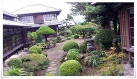 約100坪の日本庭園@飫肥 服部亭