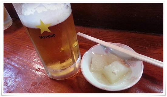 生ビールで乾杯@活魚料理 鳥勝