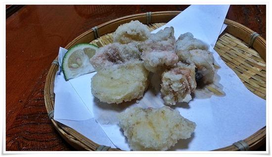 天ぷら盛り合わせ@活魚料理 鳥勝