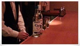 ミントのカクテル作成開始@Bar avancer