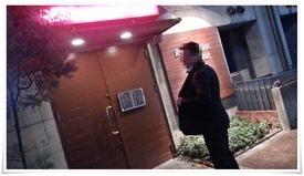 店舗入口@Restaurant Bar Shelby