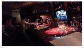 カウンター席@Restaurant Bar Shelby