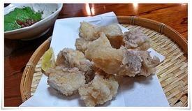ゲソの天ぷら@活魚料理 鳥勝