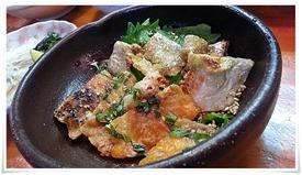 鮭の皮@活魚料理 鳥勝