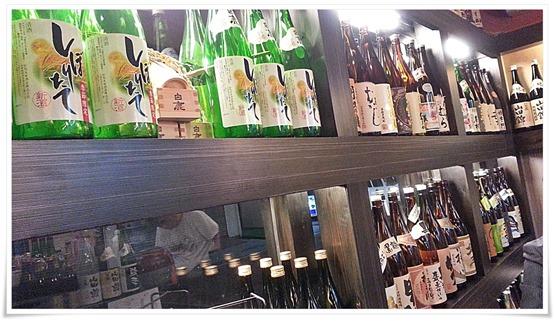 店内のボトルの数々@呑処 大起