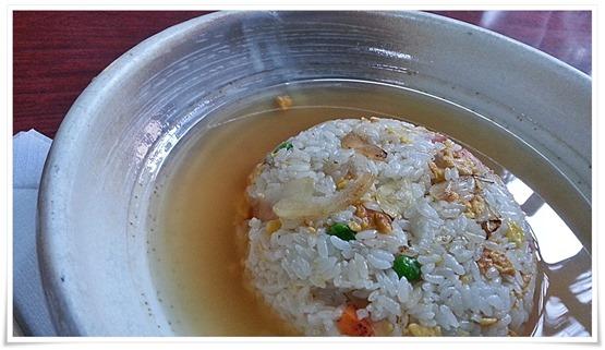 スープ炒飯@異太利亜(イタリア)