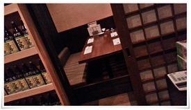半個室のテーブル席@浩司家