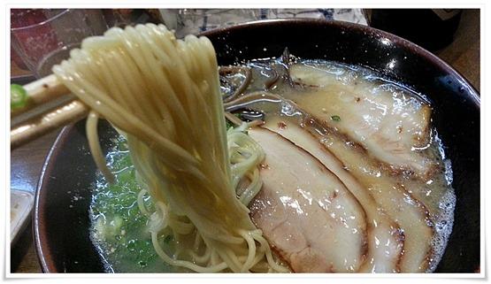 中太のストレート麺@笑味食堂 まねしん坊