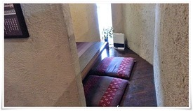 明るいテーブル席@町屋カフェ太郎茶屋鎌倉