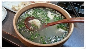 スープ餃子@一口餃子 元兵衛