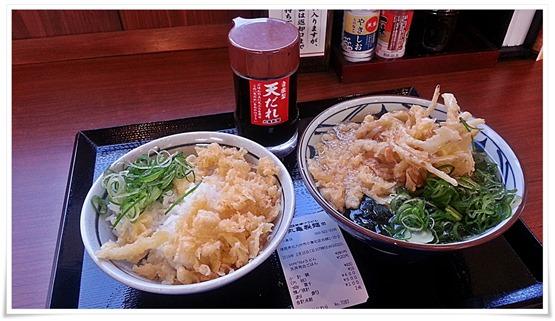 丸亀製麺 朝うどんセット完成