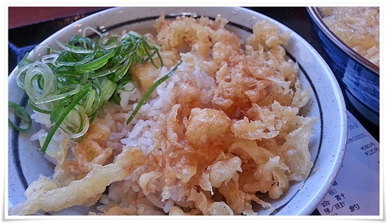丸亀製麺 特製天丼(風)