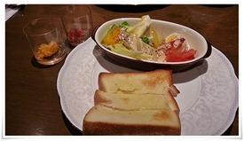 トーストモーニングの一部@cafe 桜亭
