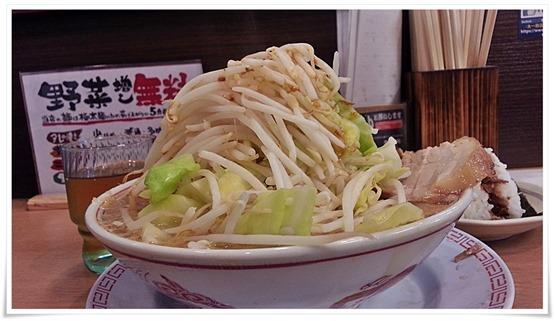 ラーメン野菜増し@太一商店