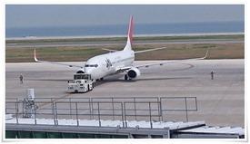 JAL離陸前@北九州空港