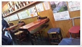テーブル席@ていしゃば