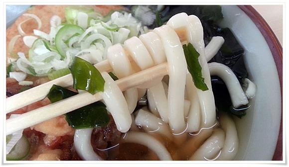 やわらかめの麺@天平うどん