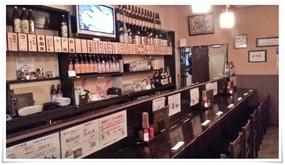 カウンター席@とり八 八幡駅前本店