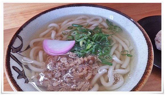 コシのあるツルツル麺@東筑軒 本社うどん店