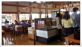 レストランはまゆう 店内の雰囲気