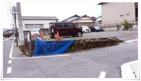 駐車場の案内板も撤去@永ちゃん食堂