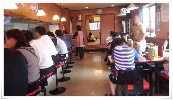 満席状態の店内@中華料理 富貴亭