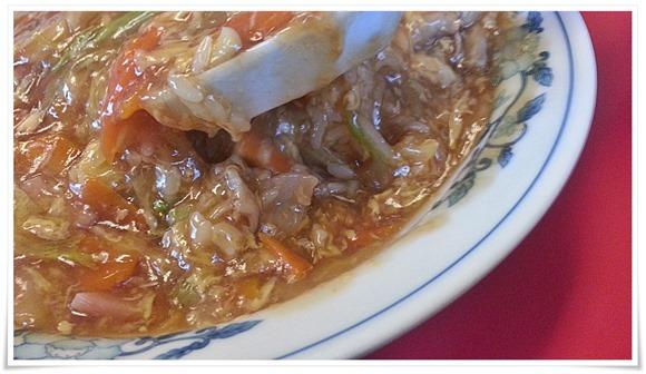 中華丼大量の餡が旨い@中華料理 富貴亭