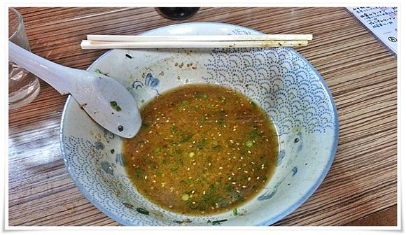 何とか完食!スープはムリでした@ラーメン天晴