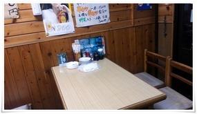 テーブル席@やきとり王将