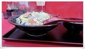 中華カツ丼大盛り横から@中華料理 光昇園