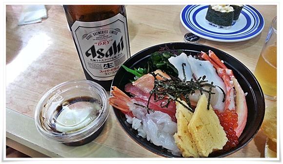 魚介海鮮丼@くら寿司 小倉到津店