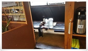 券売機横の個室@とり安食堂 曽根店