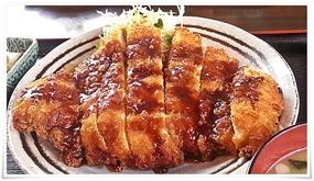 ビックなチキンカツ@とり安食堂 曽根店