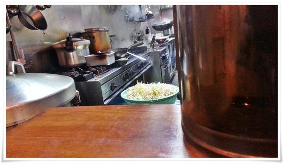 厨房で炎が!@味噌マニアックス