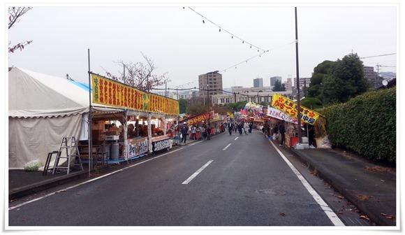 テニスコート側の端っこ@まつり起業祭八幡2014