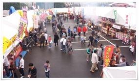 スピナ物産館前@まつり起業祭八幡2014