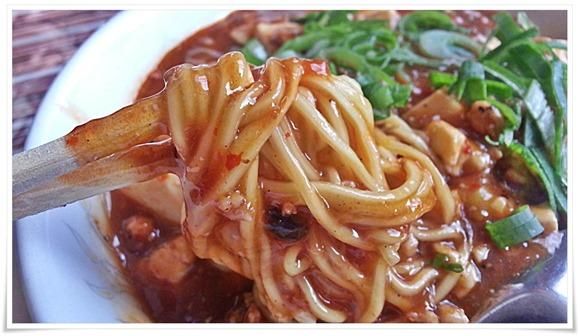 中太のストレート麺@富味亭(ふみてい)